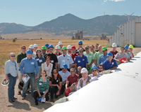 Highlight for Album: NREL Small Wind Turbine Testing Workshop - 2010