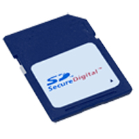 Secure Digital Card - Manufacturer may vary