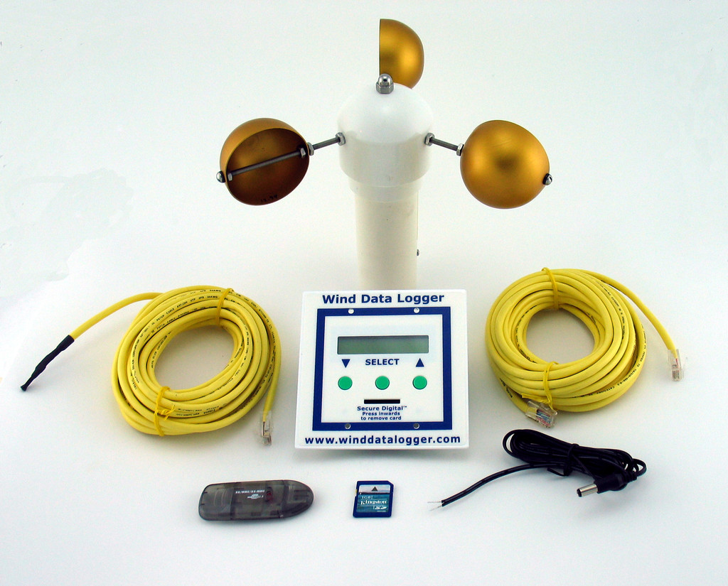 Wind Data Logger Starter Package, International