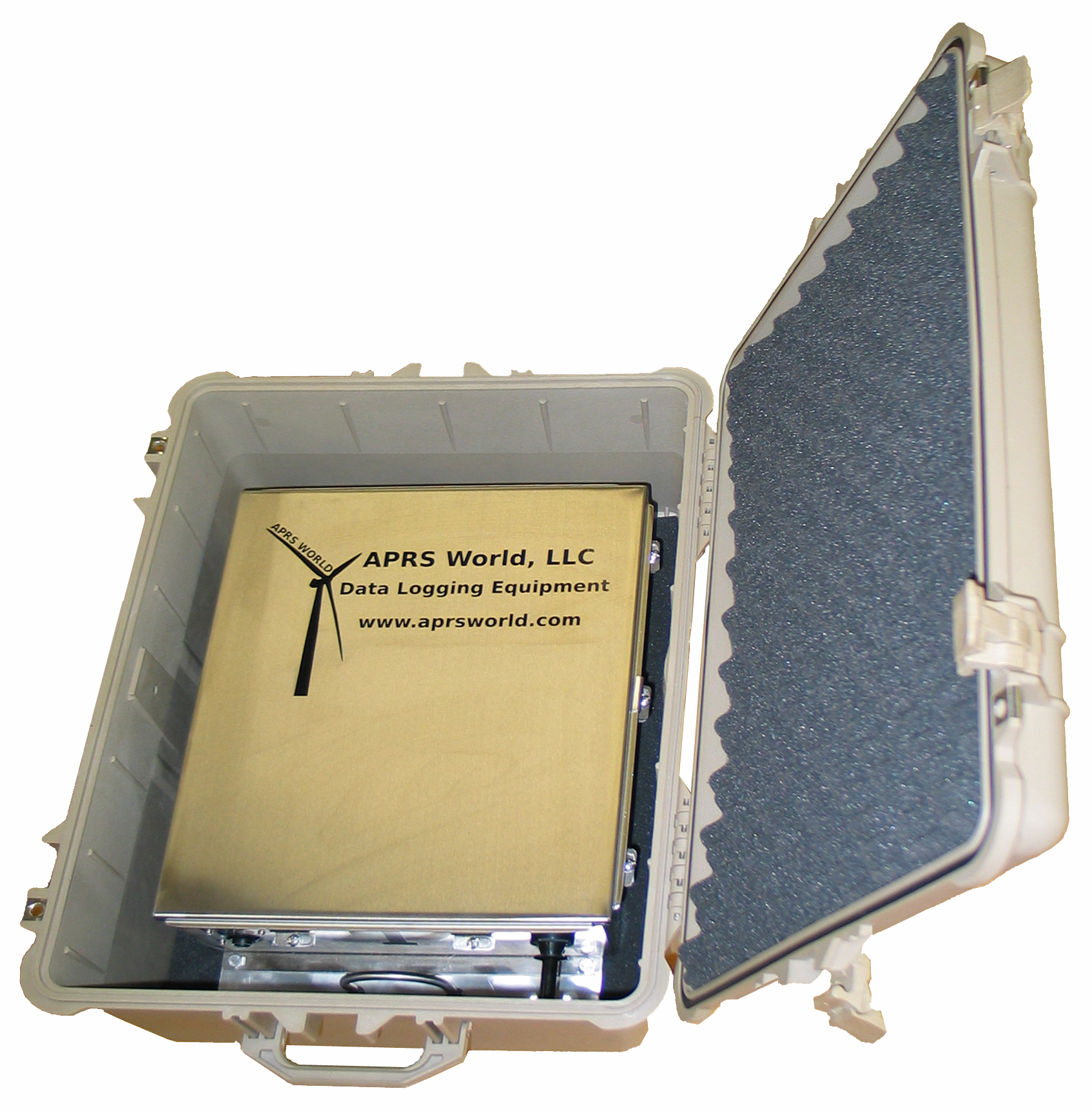 The Crane Logger in a Pelican case