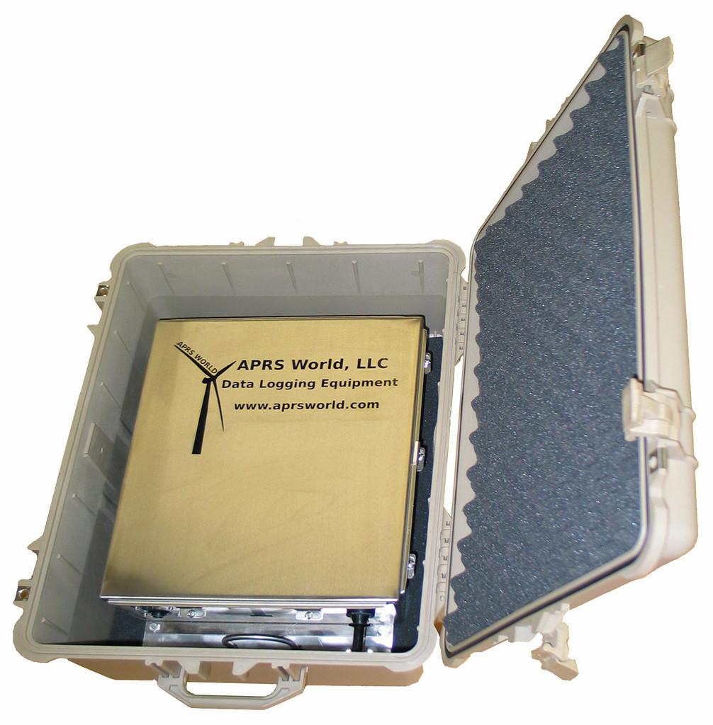 The Crane Logger in a Pelican case