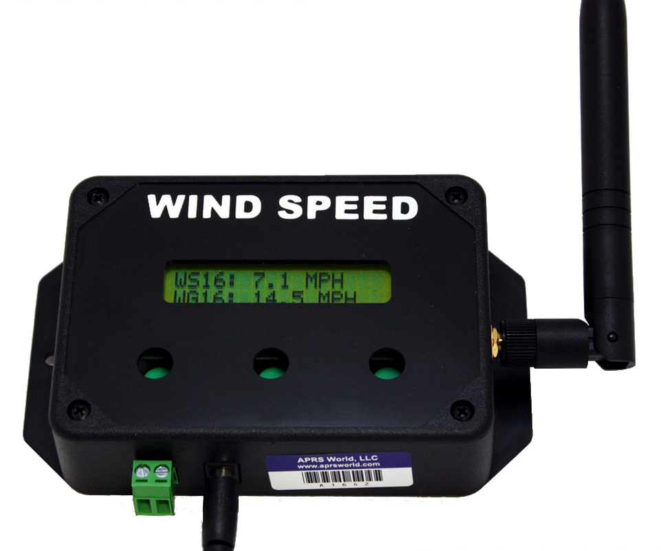 Wind Speed Display for use with Crane Wind Speed Logger