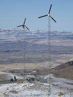 Highlight for Album: Nevada Micro Wind Test Site - December 2011