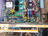 Sensor and power sources wiring inputs.