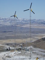 Highlight for Album: APRS World's Micro Wind Site in Nevada