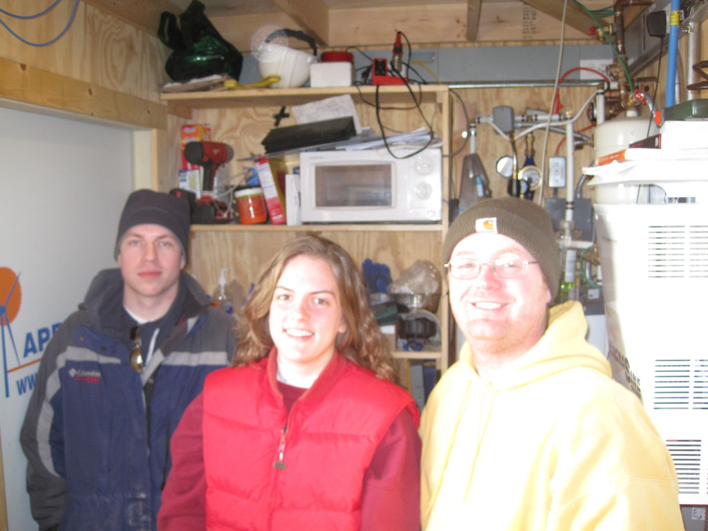 Andrew Kurtz, Lisa Amundson, James Jarvis