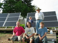 Highlight for Album: 2.1kW grid-tied solar near Plainview, MN