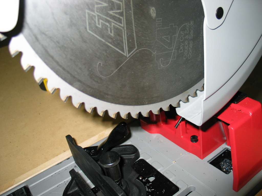 $140 dry cut saw blade. Works fine on aluminum, steel, and stainless steel.