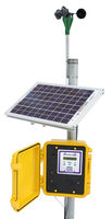 Highlight for Album: Outdoor Wind Data Logger (Solar Powered)