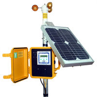 Solar Self-Contained Wind Data Logger Package