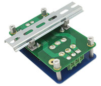 Din Rail Bottom View