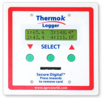 ThermokLogger-4A front view.