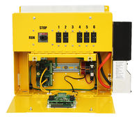 WTAPRS Turbine Control Panel with instrumentation compartment open.