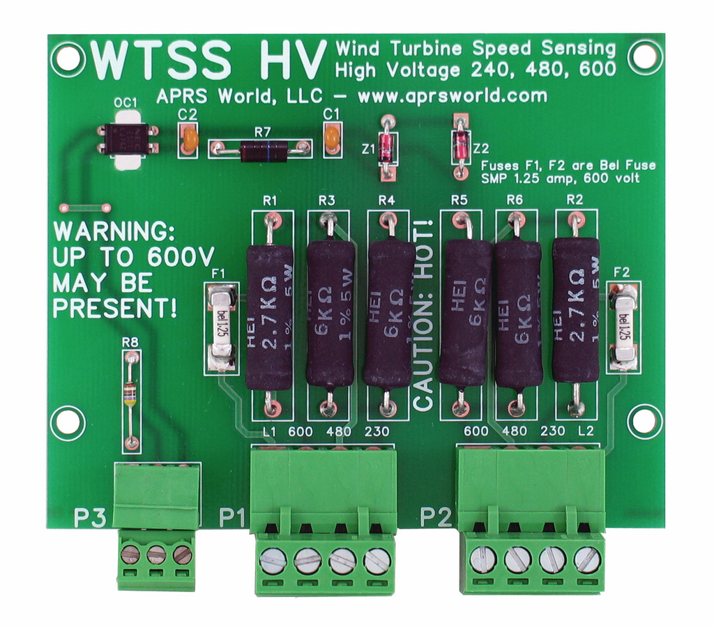 WTSS HV circuit board