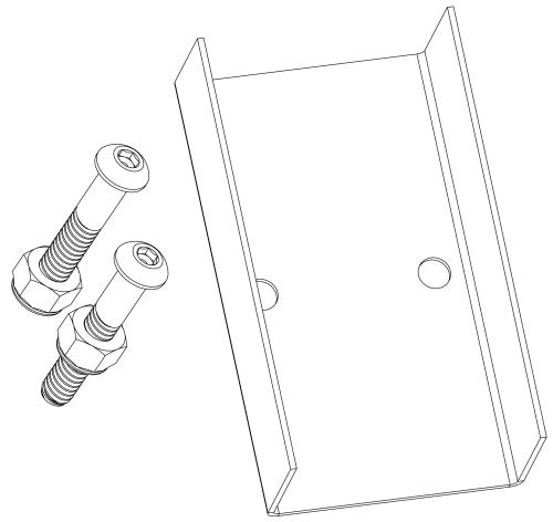 pvc pipe mounting bracket