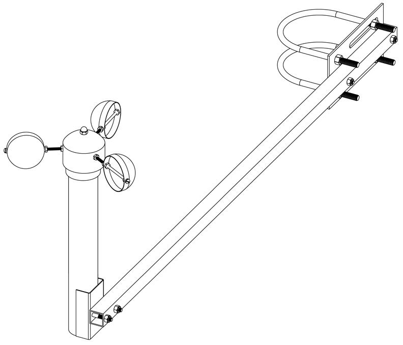 Sensor Mounting Arm